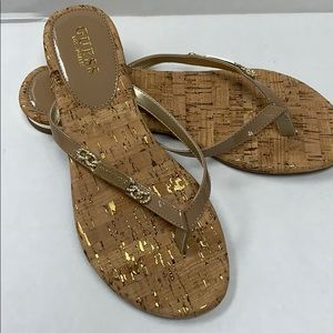 Guess Sandals Tan with Corklike Sole
